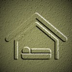 3392403 stock vector hotel icon